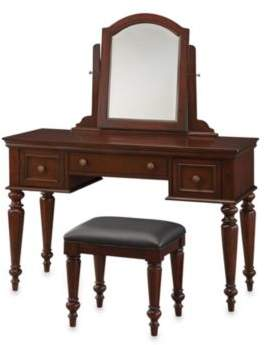 Home Styles Lafayette Vanity Set in Cherry