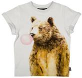 Rock Your Kid Bubble Gum Bear Ss Tee