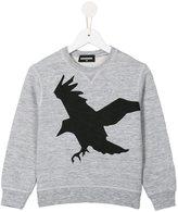 DSQUARED2 bird print sweatshirt - kids - Cotton/Viscose - 6 yrs