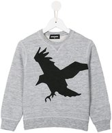 DSQUARED2 bird print sweatshirt