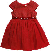 Youngland Young Land Short Sleeve Party Dress - Toddler Girls