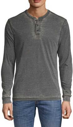 Report Collection Long-Sleeve Cotton-Blend Henley