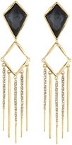 Alexis Bittar Kite Fringe-Drop Clip-On Earrings