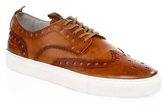 Grenson Leather Wingtip Sneakers