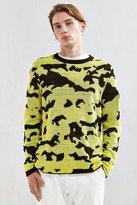 Cheap Monday Moe Pattern Crew Neck Sweater