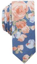 Original Penguin Men's Gillen Floral Skinny Tie