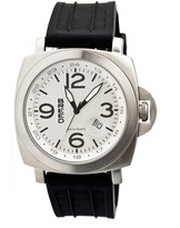 Breed Silver Gunner Swiss Watch