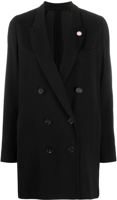Lardini Black Wool Jacket