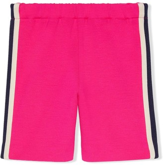 Gucci Kids striped jogging pants