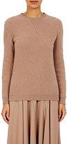 Nina Ricci Women's Rib-Knit Patchwork Sweater-BEIGE, TAN