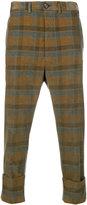 Vivienne Westwood Man corduroy check trousers