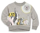 Kenzo Toddler's & Girl's Jungle Bertille Liberty Statue & Logo Sweater