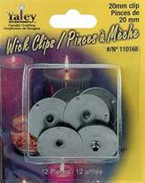 Yaley Candle Wick Clips, 20mm, 12-Pack