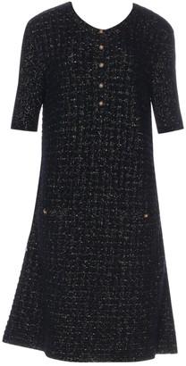 Chanel Black Polyester Dresses