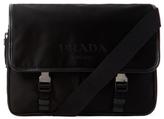 Prada Saffiano Leather Messenger Bag