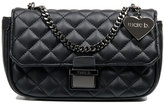 Marc B Pennie Black Pewter Crossbody Bag