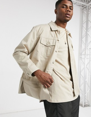 Weekday Celyon Jacket in cream