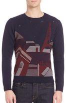 Commune De Paris Chaos Graphic Sweater