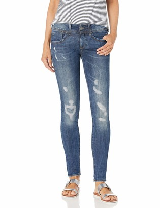 G Star Women's Lynn Midrise Skinny-Fit Jean in Hadron Stretch