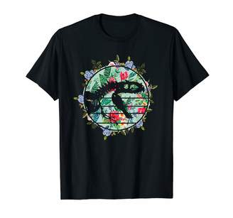 Dinosaur T Rex Shirt For Women Girls Flower Dinosaur T-rex For Womens Girls Flower Style T-Shirt