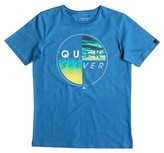 Quiksilver Short-Sleeved Crew Neck T-Shirt