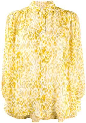 Anine Bing Leopard Print Shirt