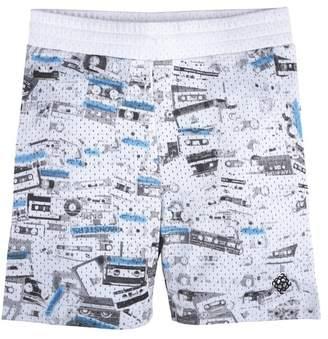 Andy & Evan Printed Mesh Shorts