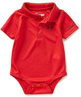 Under Armour Baby Boys Newborn-12 Months Solid Short-Sleeve Polo Bodysuit