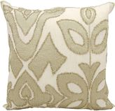 Kathy Ireland Home by Gorham® Collage Square Throw Pillow in Gold