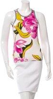 Dolce & Gabbana Floral Print Top