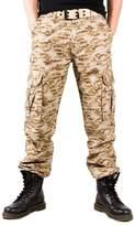 Tortor 1bacha Men's Army Military Camo Cargo Pants Desert