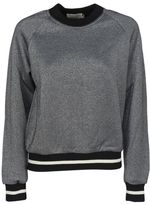 Kitsune Maison Metallic Ribbed Sweatshirt