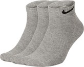 Nike Men's 3-pack Everyday Cushion Low-Cut Training Socks