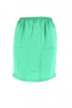 Zadig & Voltaire Turquoise Silk Skirt for Women