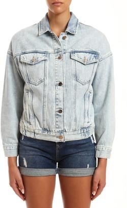Mavi Jeans Linda Bleached Denim Trucker Jacket