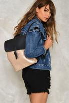 Nasty Gal WANT Sequin or Lose Backpack