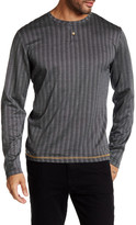 Smash Wear Long Sleeve Henley Zig-Zag Shirt