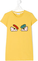 Fendi Faces T-shirt - kids - Cotton - 14 yrs