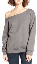 Ten Sixty Sherman Women's Off The Shoulder Sweatshirt