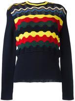 Marni geometric knit jumper