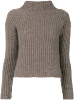 Incentive! Cashmere - cashmere ribbed knitted top - women - Cashmere - XS