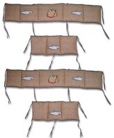 Patch Magic Gone Fishing Crib Bumper Covers