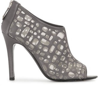 Chanel Pre Owned Cut-Out High-Heel Sandals