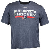 Reebok Men's Columbus Blue Jackets Center Ice Locker Room T-Shirt