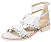 Aperlaï Loula Leather Fringe Sandal