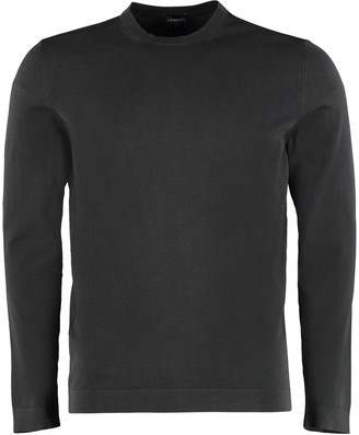 Drumohr Long-sleeved Cotton Sweater