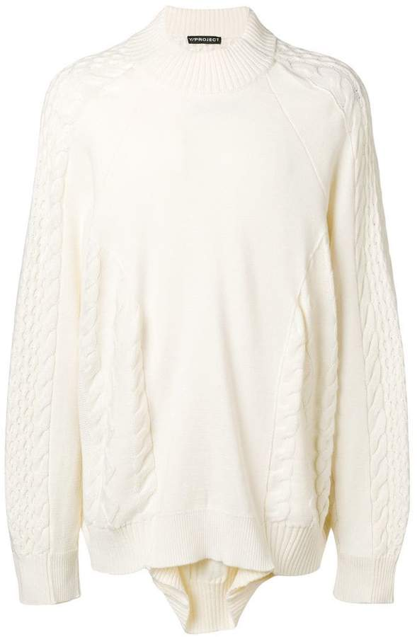 Y/Project Y / Project layered sweater
