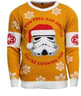 Star Wars Official Stormtrooper Christmas Jumper / Ugly Sweater - UK L / US M