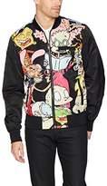 Members Only Men's Nickelodeon Reversible Bomber Jacket