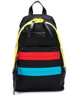 Little Marc Jacobs blockcolour zipped backpack